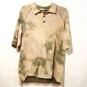 Eddie Bauer Short Sleeve Shirt Green Polo